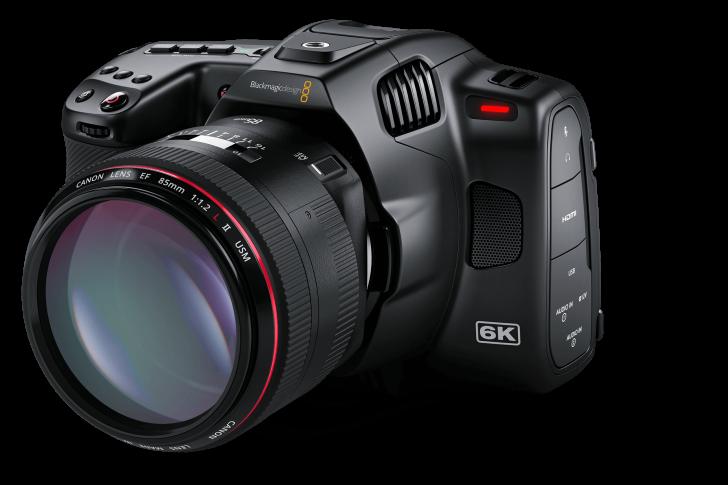 Blackmagic Pocket Cinema Camera 6K Pro Angle 728x485 - Industry News: Blackmagic Design Announces New Blackmagic Pocket Cinema Camera 6K Pro