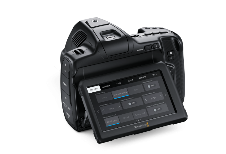 Blackmagic Pocket Cinema Camera 6K Pro Back 728x497 - Industry News: Blackmagic Design Announces New Blackmagic Pocket Cinema Camera 6K Pro