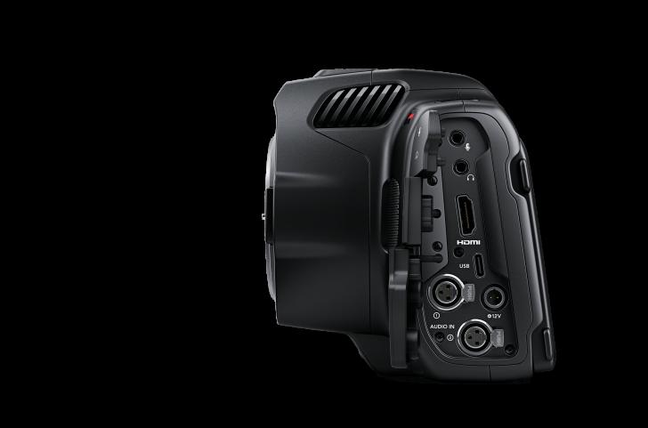 Blackmagic Pocket Cinema Camera 6K Pro Side 728x481 - Industry News: Blackmagic Design Announces New Blackmagic Pocket Cinema Camera 6K Pro
