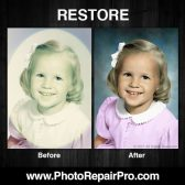 PhotoRepairPro color photo restoration school girl 168x168 - Former exclusive Costco Photo Center partner launches PhotoRepairPro.com