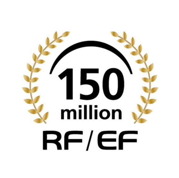 RFEF 150million colorcopy 577x575 - Canon Celebrates Significant Milestone with Production of 150 Million Interchangeable RF And EF Lenses
