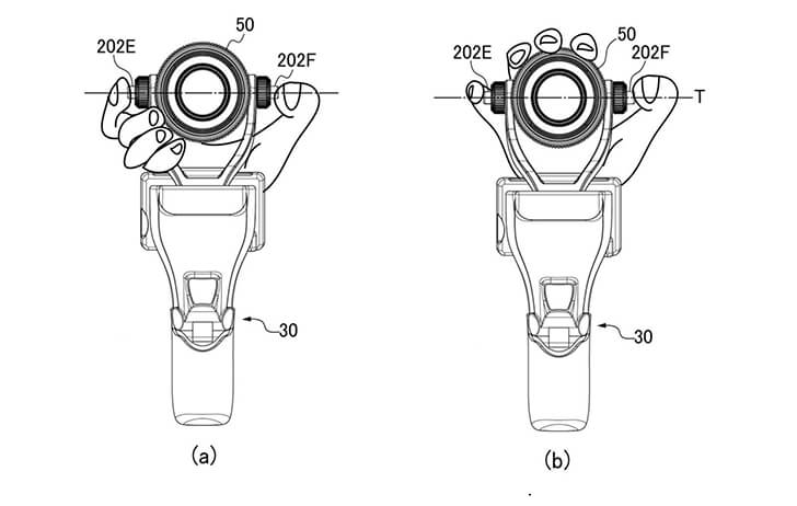 Patent: The Canon vlogging camera appears in another patent
