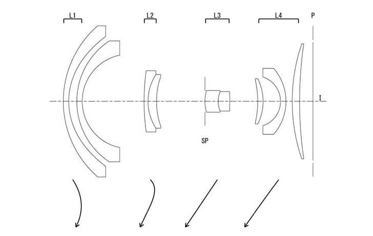 Patent: Full-Frame fixed lens camera