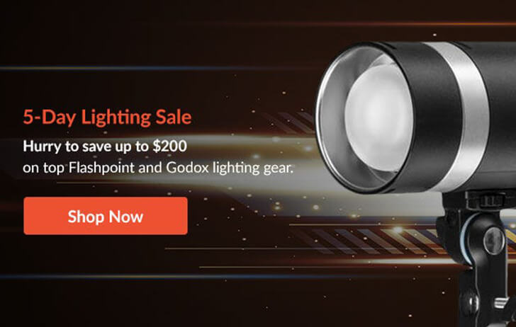 5 day lighting sale at Adorama is live