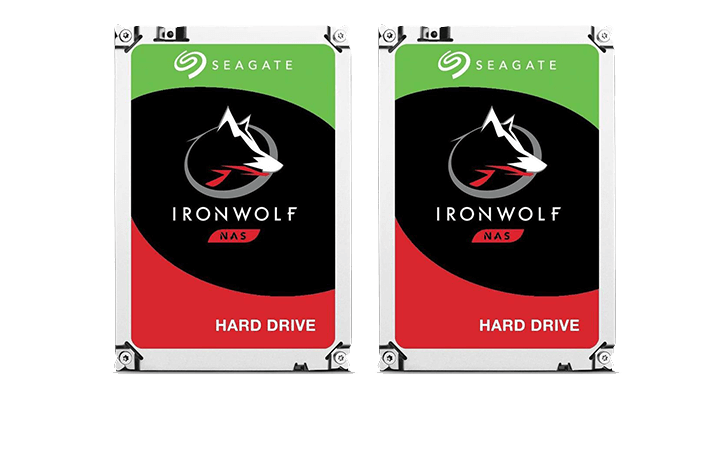 Deal of the Day: Seagate 2 Pack IronWolf 8TB 3.5″ Hard Drive $369 (Reg $419)