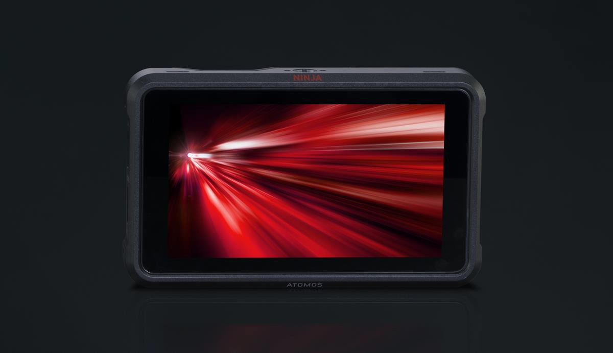 a picture containing screen dark description aut - Atomos brings 8K 30p ProRes RAW to the Canon EOS R5 with the Ninja V+