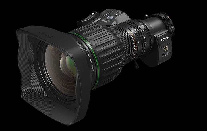 Canon announces the UHD 4K portable zoom lens, the CJ17ex6.2B