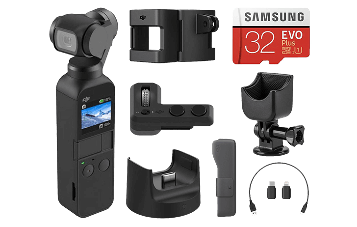 doddjipocketbundle - Deal of the Day: DJI Osmo Pocket With DJI Expansion Kit $199 (Reg $299)