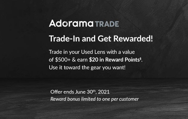 Adorama wants your used gear!