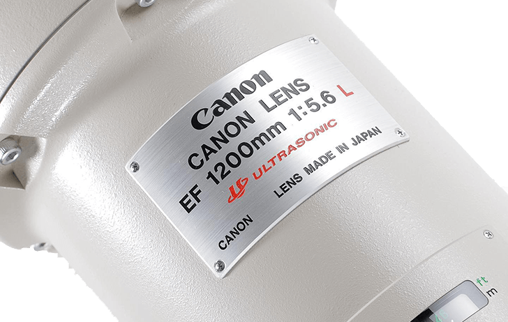 The Canon EF 1200mm f/5.6L USM sells for a record €500,000 at auction