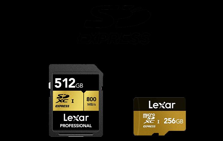 Lexar Announces Development of SD Express Memory Cards