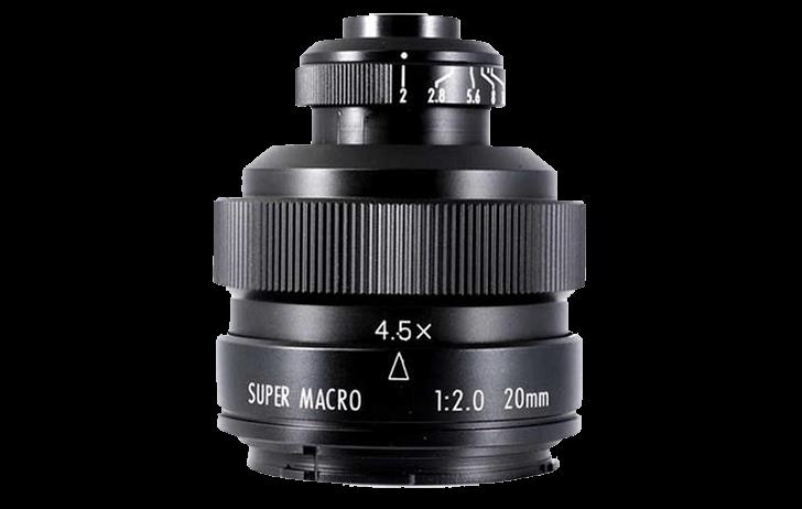 Deal of the Day: Mitakon Zhongyi EF 20mm f/2 4.5X Super Macro $149 (Reg $239)