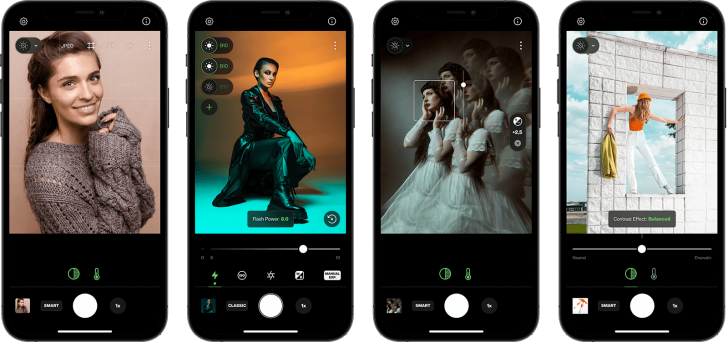profotocamerascreenshots 728x342 - Profoto Camera: the professional smartphone camera that works with their flashes