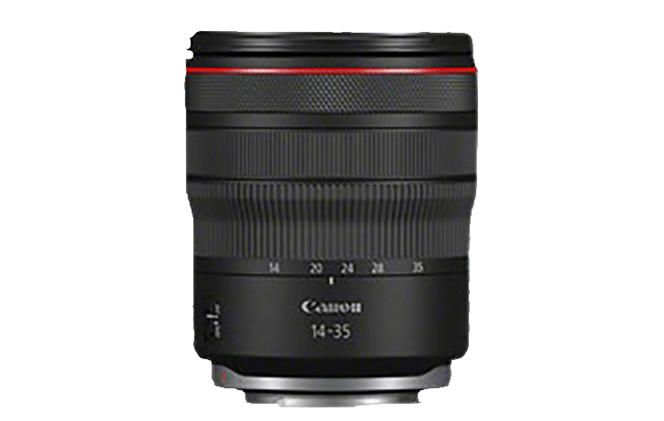Here is the Canon RF 14-35mm f/4L IS USM