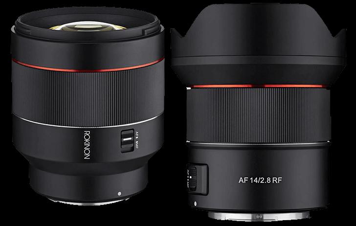 Deal of the Day: Rokinon autofocus dual-lens bundle for the RF mount $1197 (Reg $1397)
