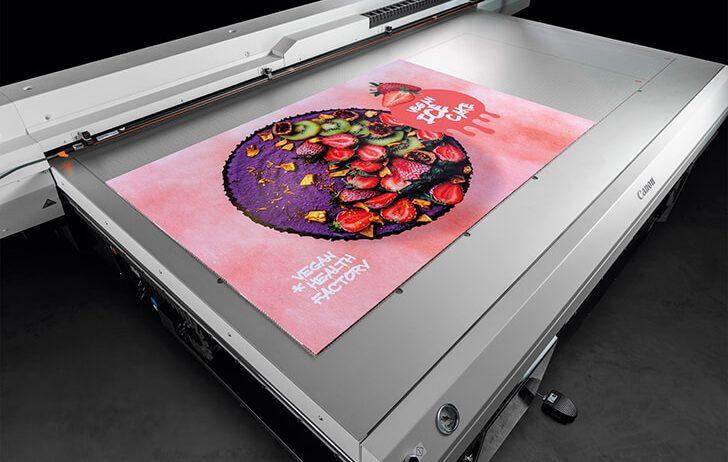 Canon announces the Canon Arizona 135 GT UV Flatbed Printer