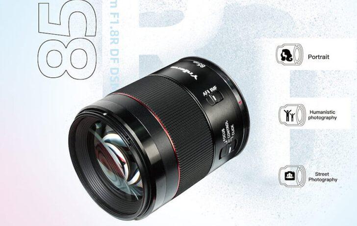 Yongnuo announces the YN RF 85mm f/1.8R DF DSM