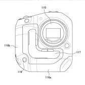 gripdesignpatent 168x168 - Patent: A new mirrorless camera body design with integrated grip with pass-through