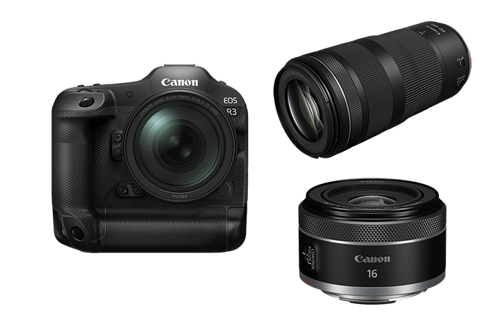 In a shocking development, Canon adds the EOS R3, RF 16mm f/2.8 & RF 100-400mm f/5.6-8 IS USM to its list of products with a supply issue