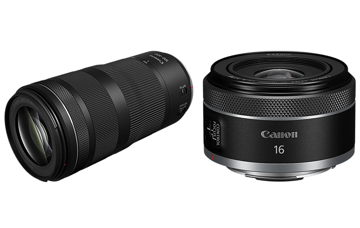 Canon officially announces the RF 16mm f/2.8 STM and RF 100-400mm f/5.6-8 IS USM