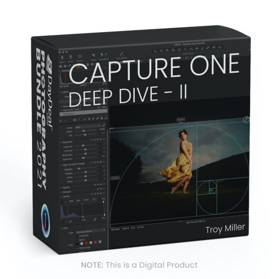 Capture One Deep Dive II with Troy Miller 575x575 - It's back! The 5DayDeal Photography Bundle is all new for 2021 and it's the best one yet